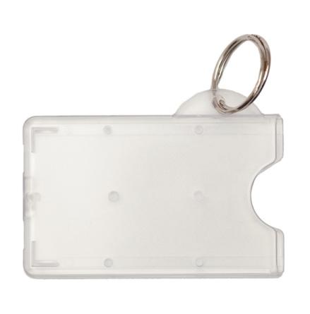Korthållare Reko 72  transparent med nyckelring