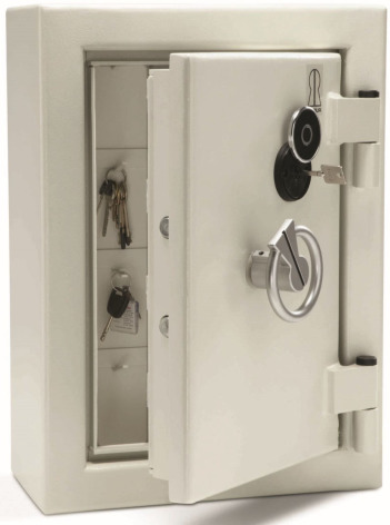 Säkerhetsskåp för nycklar väggmodell 56-151 krokar